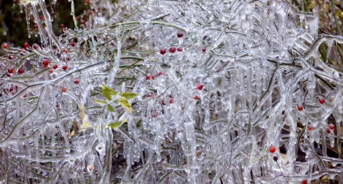 Descenso brusco de temperaturas