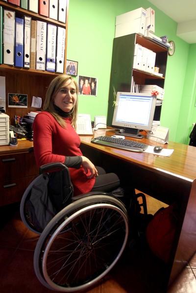 Gema Requejo, administrativa de la Fundación ASPAYM Castilla y León