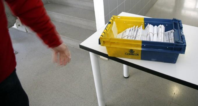 Tres mil ciento setenta y ocho segovianos solicitan votar por correo