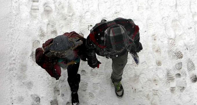 Reparto de fundentes en previsión de nevadas