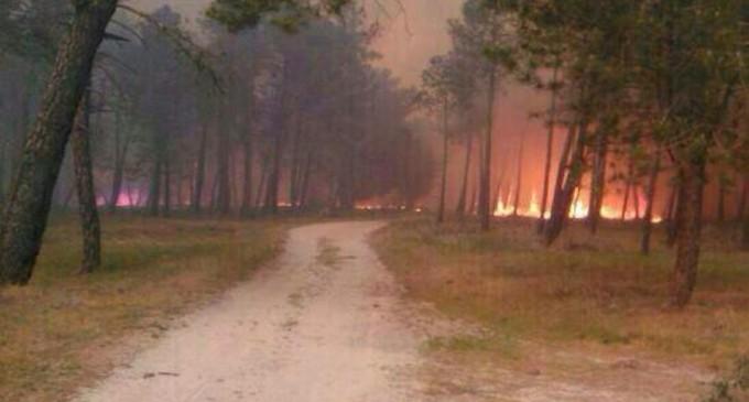 Alto riesgo de incendio en toda la Comunidad