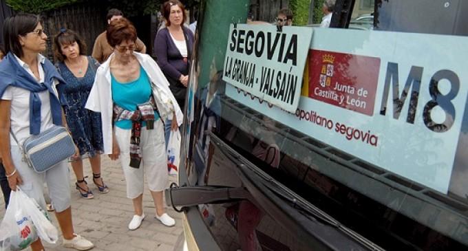 El transporte metropolitano tuvo en 2014 un total de 574.000 viajeros en Segovia