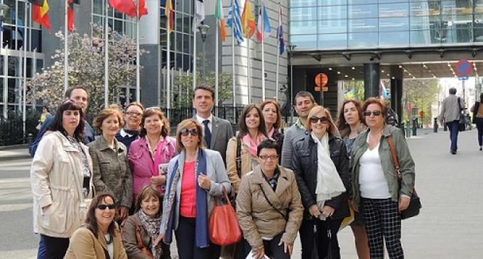El Parlamento europeo escucha a las mujeres segovianas