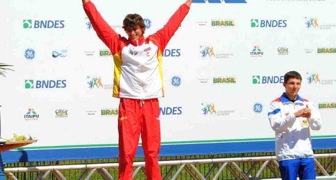 El segoviano David Llorente, subcampeón del mundo de piragüismo