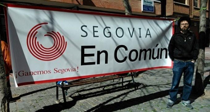 Rubén Rincón, candidato por `Segovia en Común´ a la alcaldía de la capital
