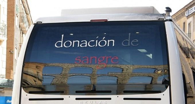 Segovia dona su sangre