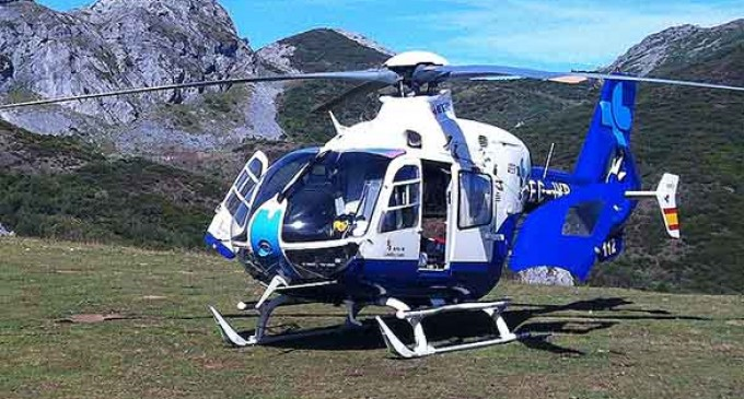 Rescatado un piloto de parapente tras accidentarse en Arcones