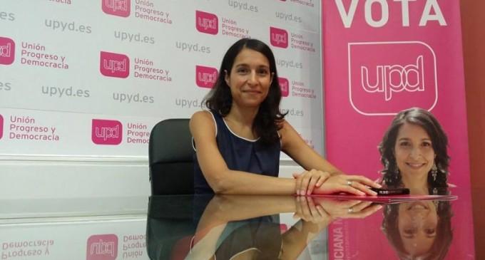 """Luciana Miguel: """" Hay una élite vinculada al poder económico y político que pone y quita el freno a Segovia a su antojo"""""""