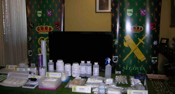 La Guardia civil intercepta 180.000 euros en cocaína