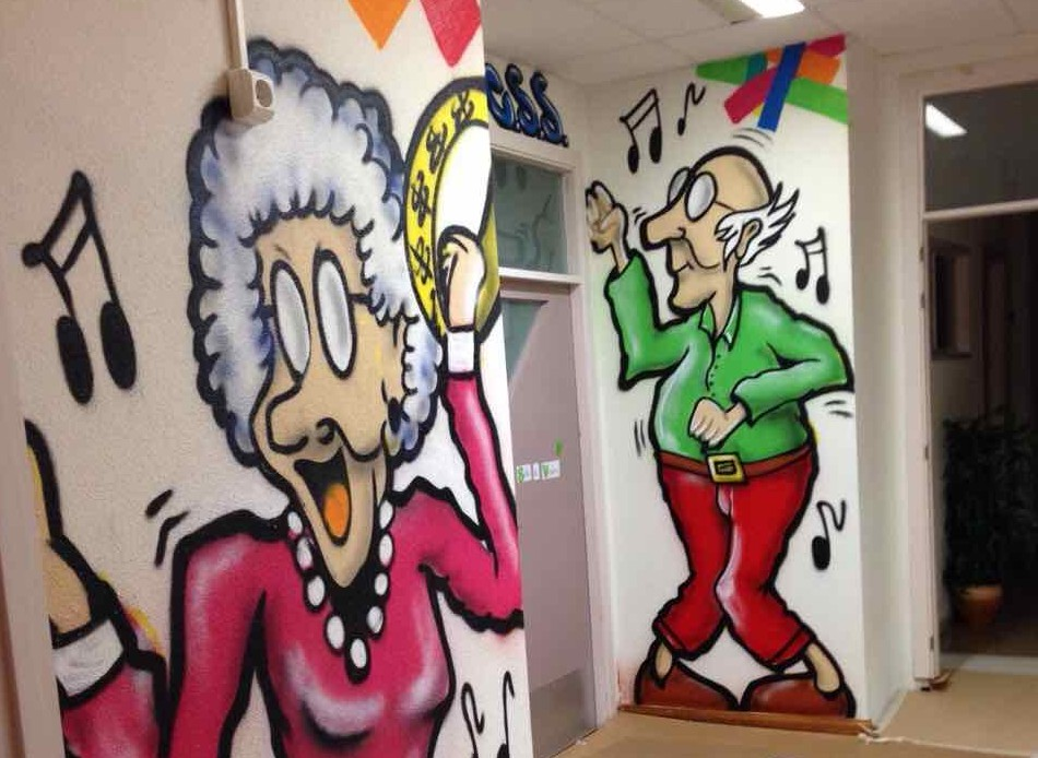 graffitis y aerografia