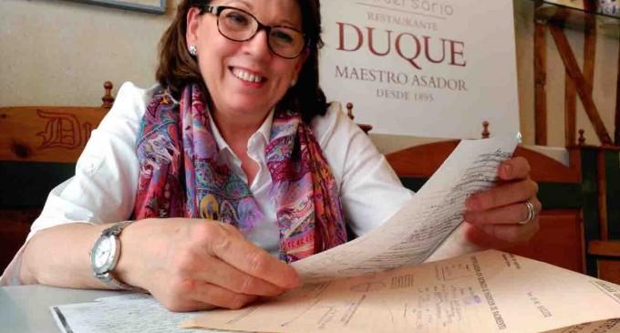 Feliciana Mate mantiene su sitio en la historia gastronómica de Segovia