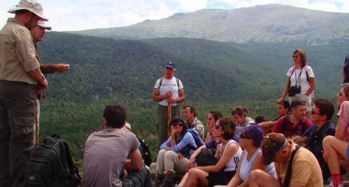 Una excursión para conocer mejor los insectos y bichos del entorno de Valsaín
