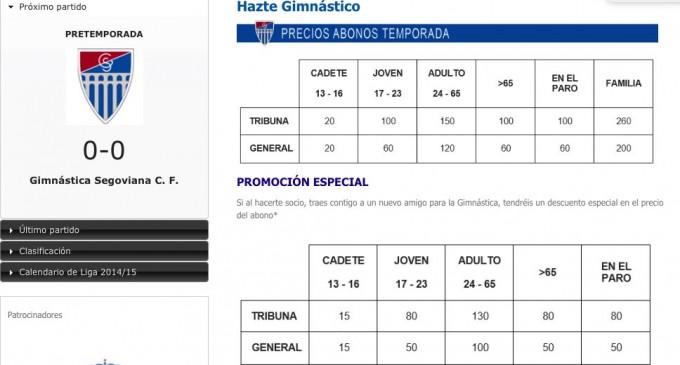 Nuevos tiempos para la Gimnástica Segoviana