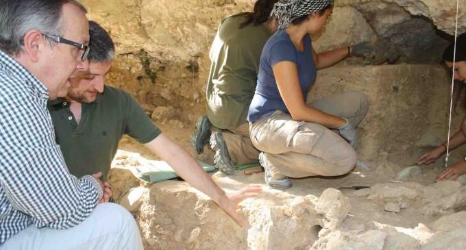 Tercera campaña de excavaciones en el 'Abrigo del Molino'
