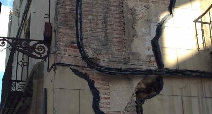 """El PP considera """"no adecuados"""" los trabajos de emergencia en la 'Casa de los Buitrago'"""