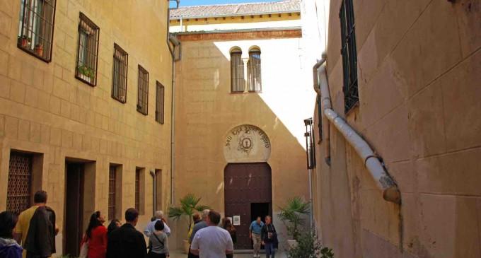 Una subida de tensión origina un incendio en el convento del Corpus
