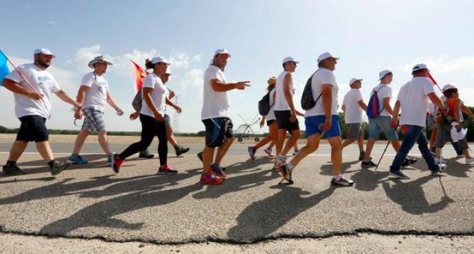 La 'marcha blanca' llega a Segovia