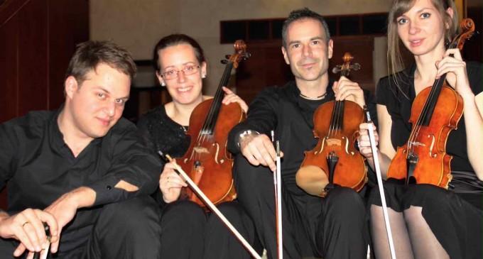El Cuarteto Moeran visita Segovia el viernes