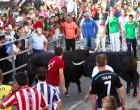 Cuatro toros concluyen el cuarto encierro de Cuéllar