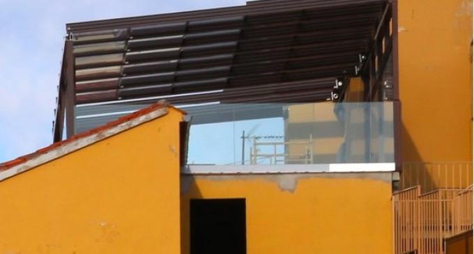 Urbanismo multará al Hotel Acueducto por la estructura de su azotea