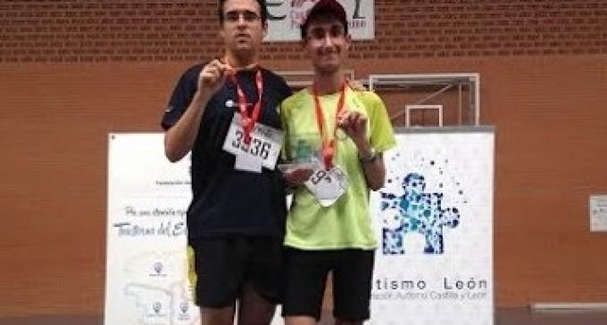 Deportistas segovianos con trastorno autista triunfan en Castilla y León