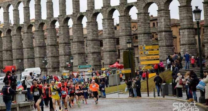 Correr en febrero para 'enamorarse' otra vez de Segovia