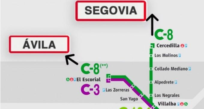 Sigue la lucha por incluir a Segovia y Ávila en las zonas E-1 y E-2 de transportes de Madrid