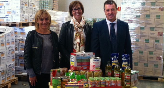 132.000 kilos de alimentos para los más necesitados
