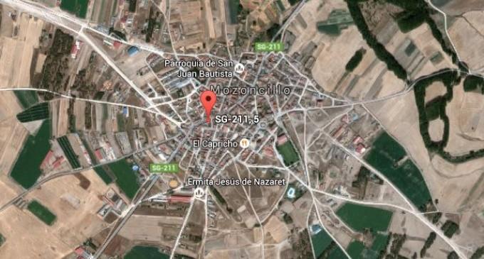 Cuatro mujeres heridas en Mozoncillo tras una colisión de dos turismos