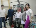 Afectados de Esclerosis Múltiple de Segovia mejoran gracias a una máquina de musculación