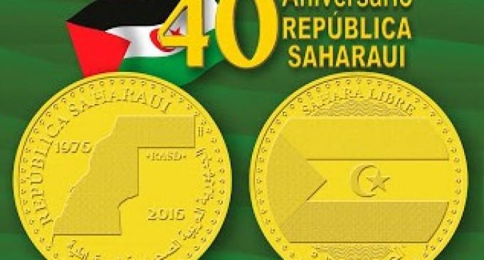 Una medalla conmemorará el cuarenta aniversario de la República Saharaui