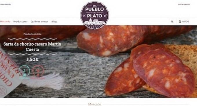 Los productos gastronómicos 'de pueblo', directos a los hogares vía internet