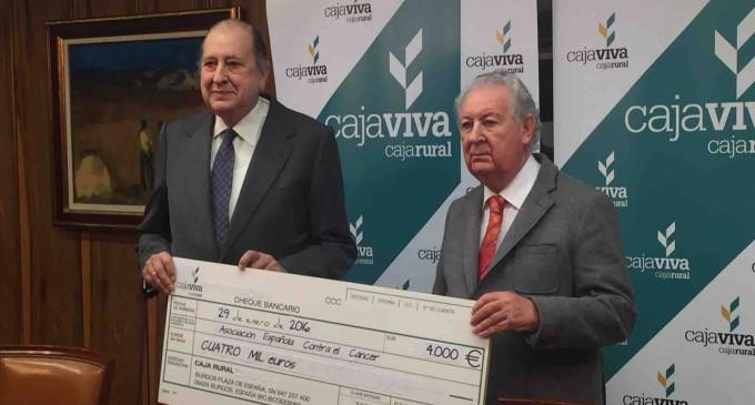 La campaña de Cajaviva Caja Rural 'valores por encima del valor' recauda 4.000 euros