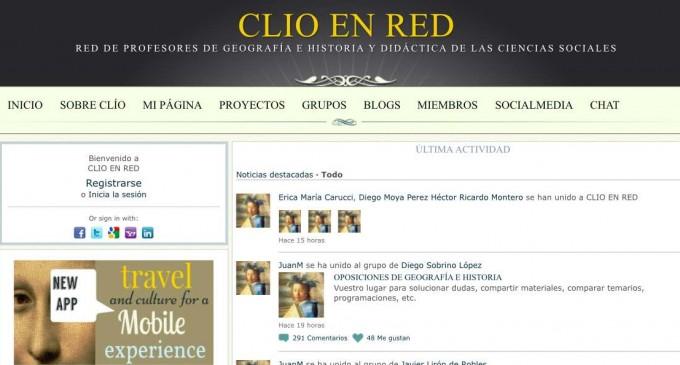 Una red social creada en Segovia, referencia para profesores de Geografía e Historia