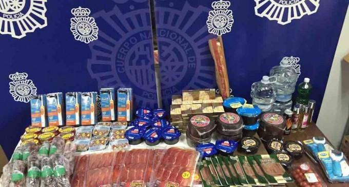 Cuatro detenidos por robos en supermercados