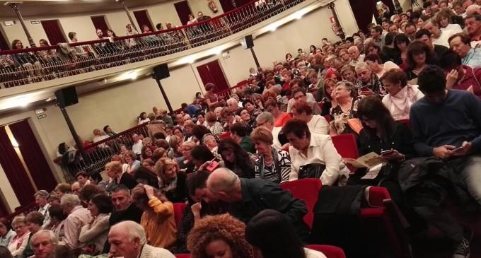 Más de cuarenta y cuatro mil espectadores acudieron al Teatro Juan bravo en 2015
