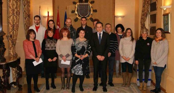 Veinte emprendedores, beneficiarios  del programa 'Segovia Emprende'