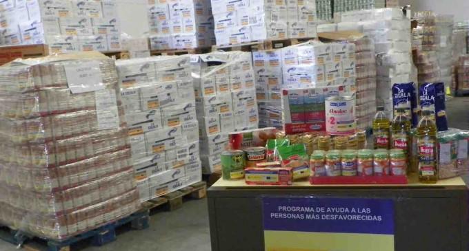 Tercera fase del programa de ayuda alimentaria
