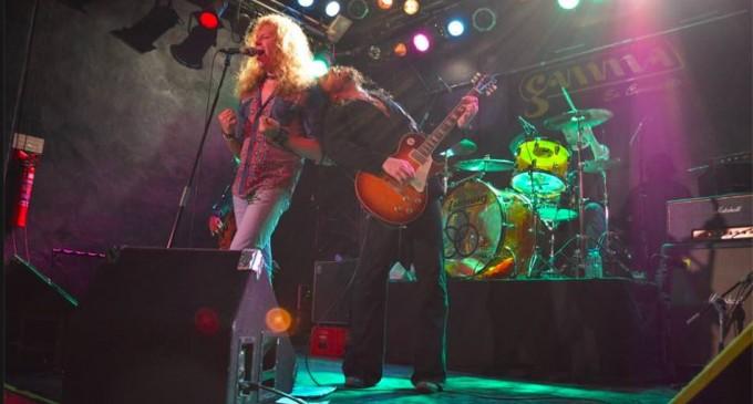 Adrenalina 'Led Zeppelin' de la mano de 'Whole Lotta Band'