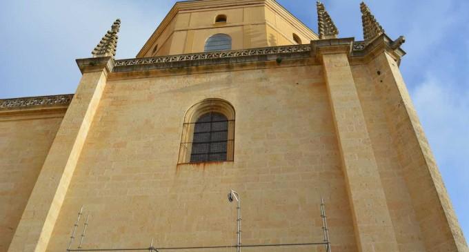 Frenar el deterioro de las cubiertas, objetivo de las obras en la 'Capilla del Santísimo' de la Catedral