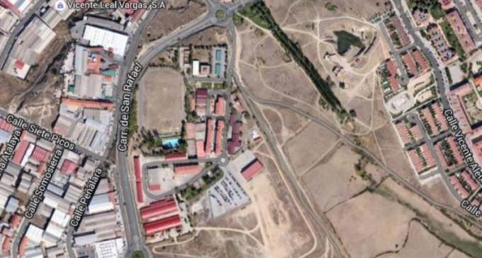 Herida una mujer tras un atropello en Segovia