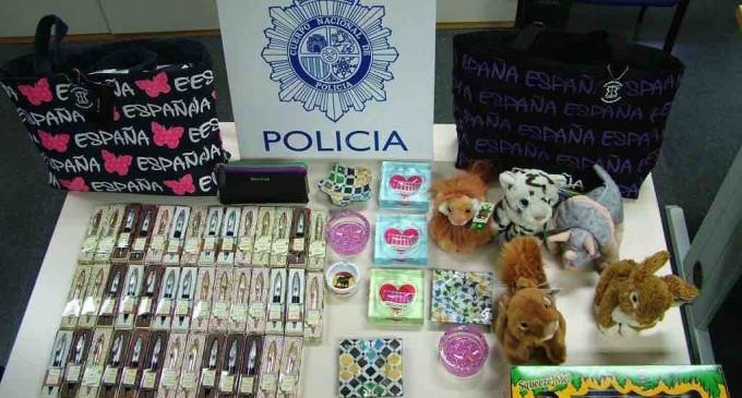La Policía evita hurtos en varios comercios de la capital