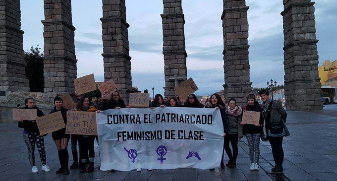 La coordinadora feminista de Segovia reivindica la figura de la mujer