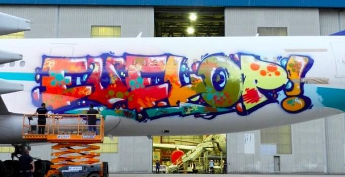 Graffiti de altos vuelos