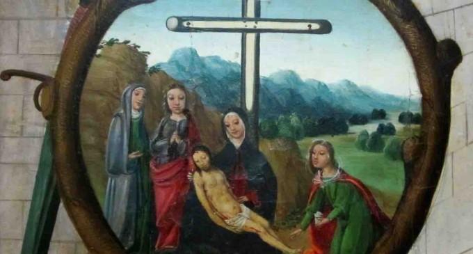 Un óleo del siglo XVI 'Pieza desconocida' del Museo de Segovia