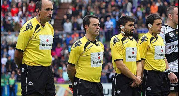 """Eneko Gañán: """"Al árbitro de rugby se le respeta. Si alguna vez te insultan luego vienen a pedirte perdón"""""""