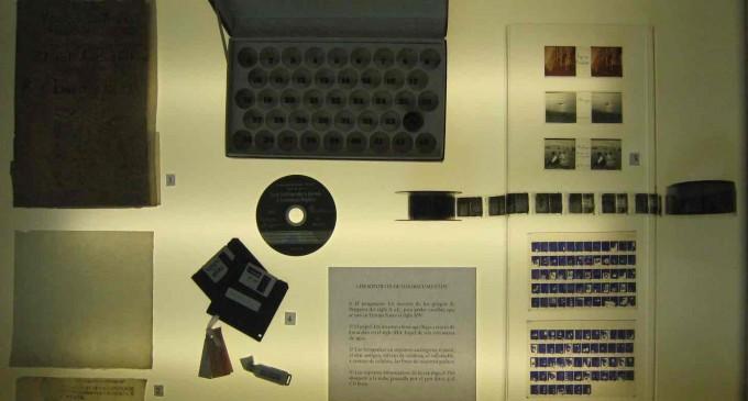 Los diferentes formatos de soporte, 'pieza del mes' del Archivo Histórico