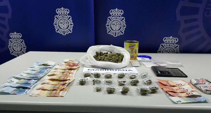 Dos detenidos por presunto tráfico de drogas en el centro de Segovia