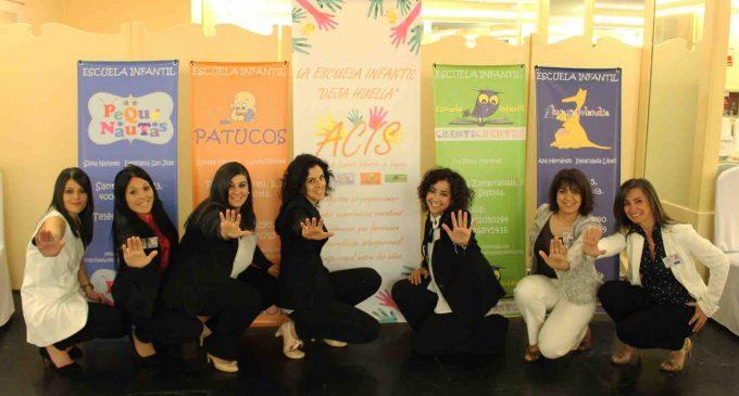 ACIS 'deja huella' con las jornadas de educación infantil de 0 a 3 años