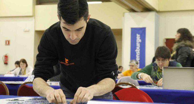 El segoviano Gonzalo López Santos, subcampeón de España de puzzles por parejas